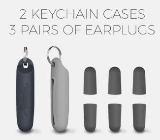 MATADOR Travel Earplugs Kit 旅行隨身耳塞套裝 (3對)