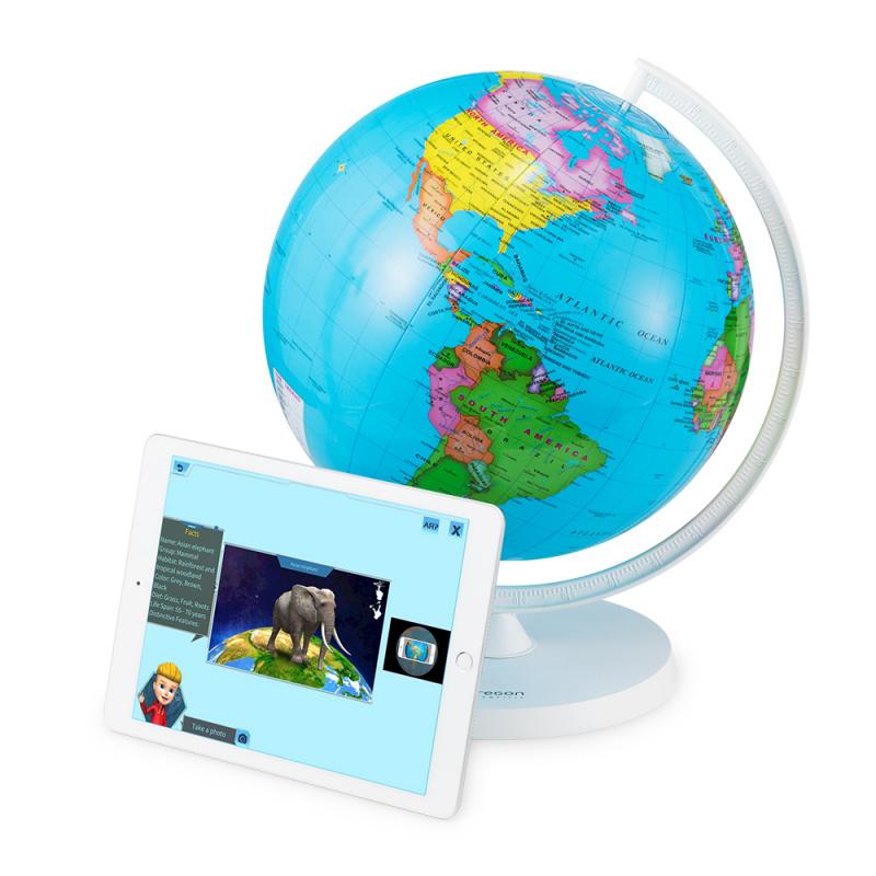 Oregon Scientific Smart Globe™ Air AR SG038R 充氣智能地球儀