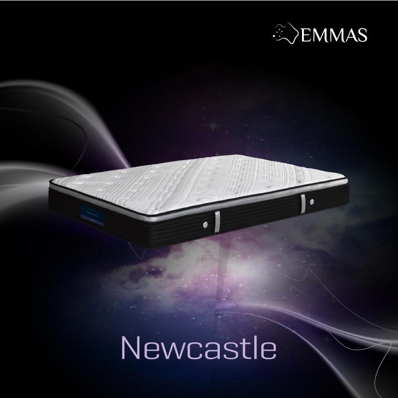 EMMAS澳美斯 - Newcastle 床褥 【附冷氣被 + Cheer健康承托枕 + 防水床褥保護套】