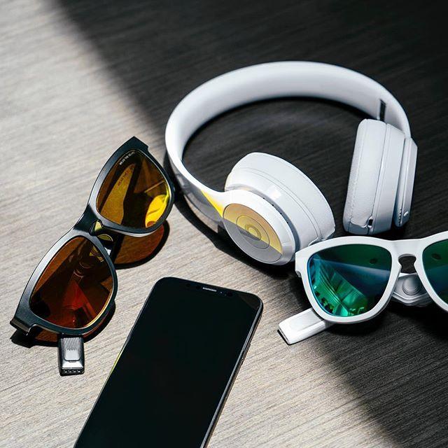 美國Zungle Viper 2.0 骨導傳聲太陽眼鏡 [黑色]