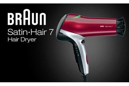 百靈 Braun Satin Hair 7 Colour 炫髮護色電風筒 HD770