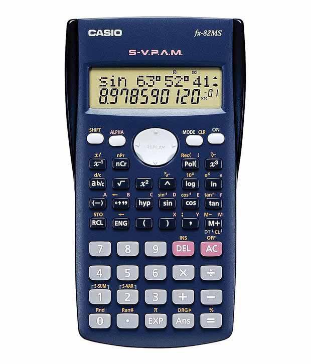 CASIO FX-82MS Scientific Calculator   科學計數機