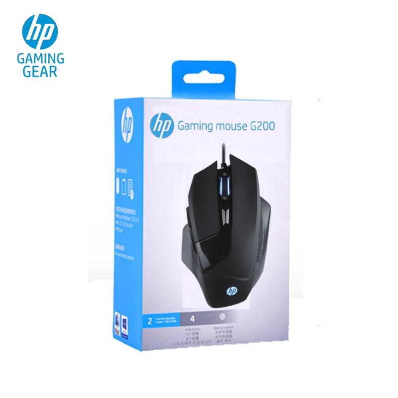 HP G200 電競滑鼠 [6檔DPI可選]