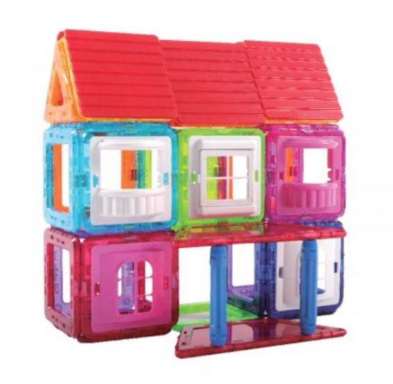 Little Pony x Magkinder My House Set 76pcs
