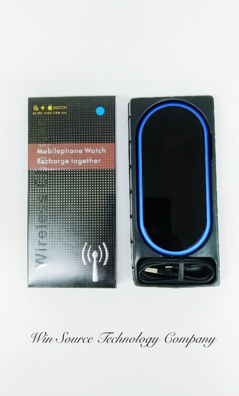 F1 無線充電器 Wireless Charger for Mobilephone and iWatch Recharge [4色]
