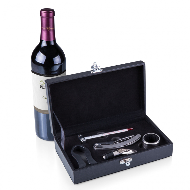 Picnic Time SYRAH WINE TOOL SET 盒裝專業開瓶套裝