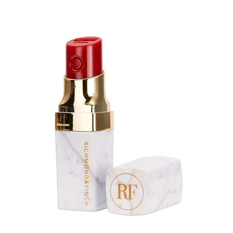 Richmond & Finch Lipstick Powerbank - White Marble (Lipstick - 014)