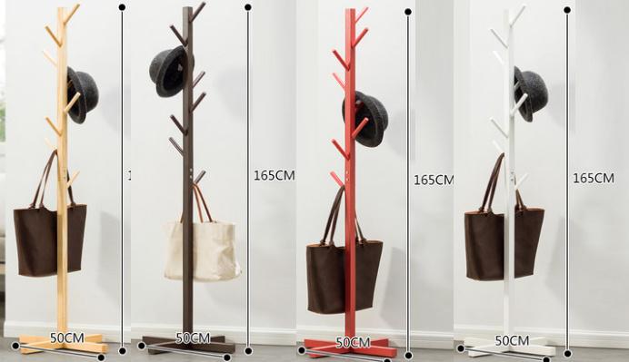 多用途樹形衣帽架 [4色]