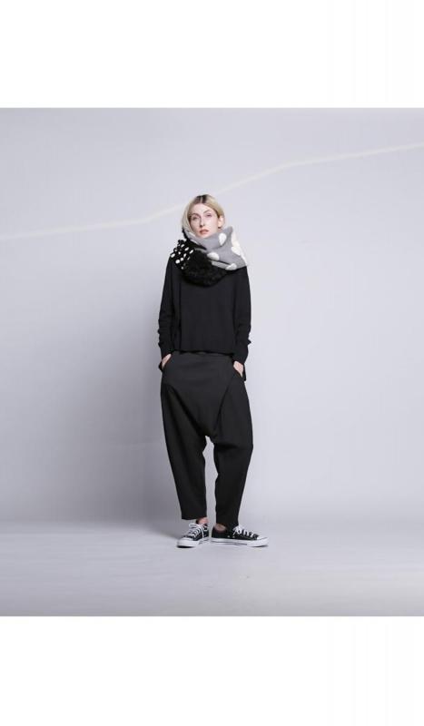 ANTIQUA限定 4拼色頸巾