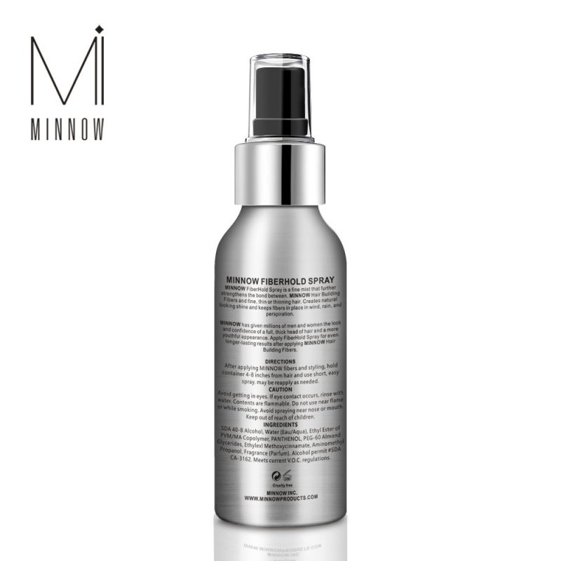 Minnow Spray 定型啫喱噴霧 - 特硬 (100ML)