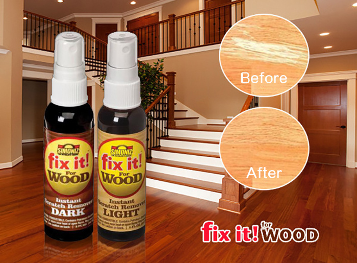 Fix it!Wood地板家具劃痕修復液套裝