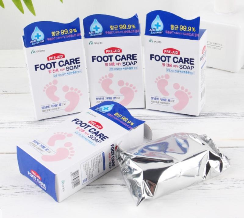 韓國小腳丫去腳氣皂