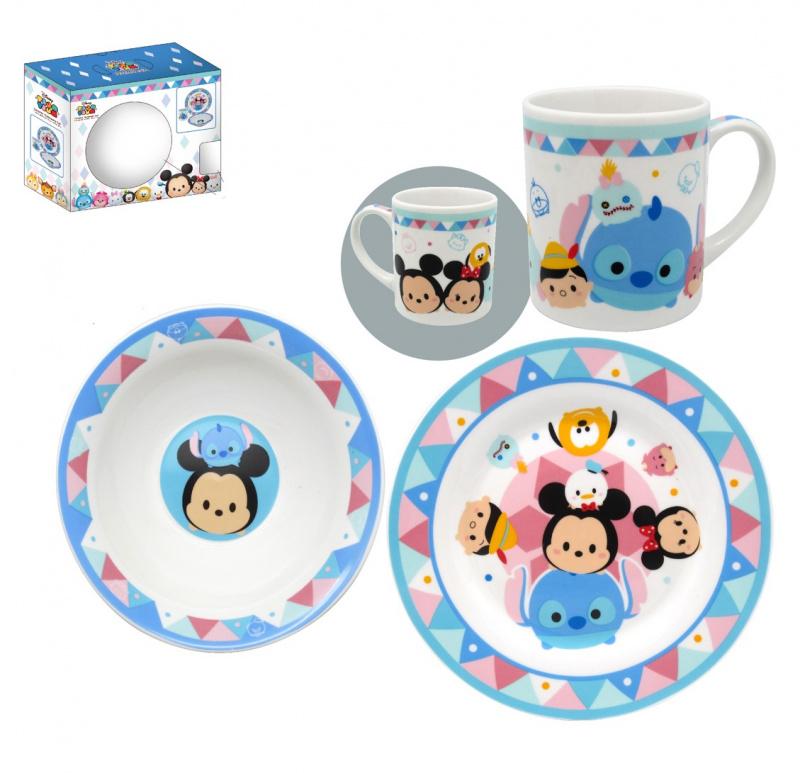 可愛卡通 陶瓷餐具套裝 [4款]
