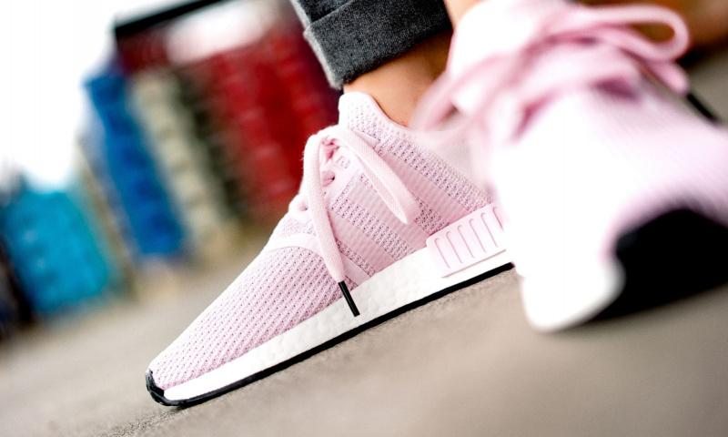 ADIDAS NMD R1 女裝鞋 [粉紅色]