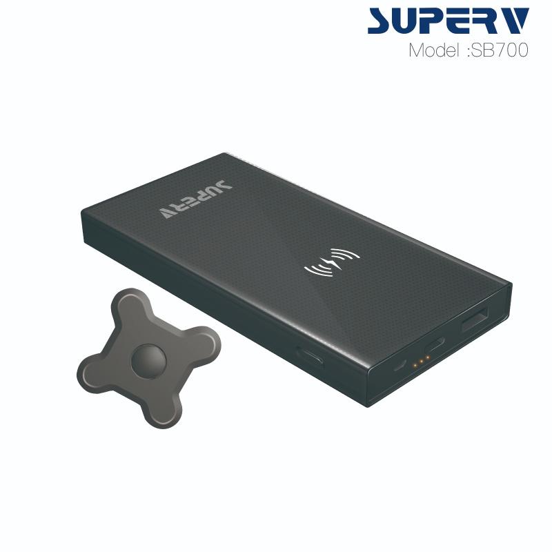 SB700 無線磁吸快速充電器 10000mAh QC3.0+PD