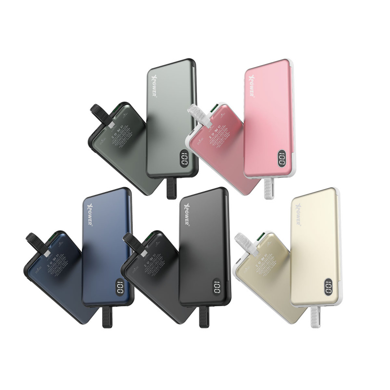 Xpower - PB10QC QC 3.0內置Type-C線外置充電器