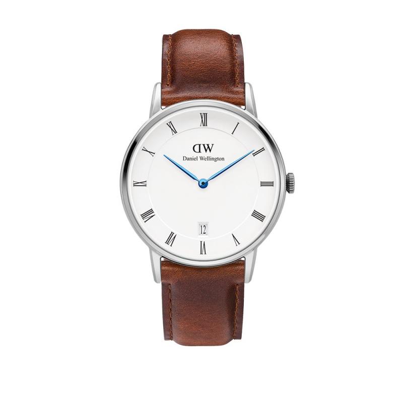Daniel Wellington Dapper St Mawes 藍針皮帶手錶 34mm/38mm [2色]