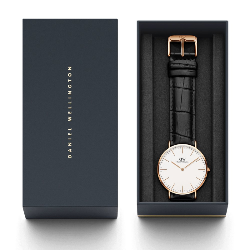 Daniel Wellington Classic Reading 36mm/40mm 皮帶手錶 [2尺寸2色]