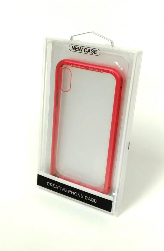 超強 360°全包磁性玻璃殼 for iPhone X [5色]