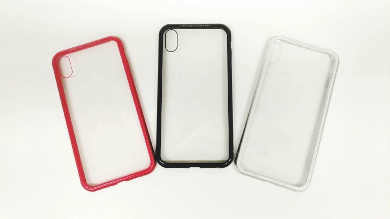 萬磁王360°全包磁性玻璃殼 iPhone XS MAX [3色]