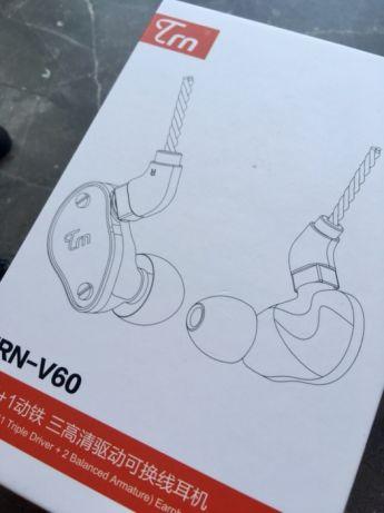 TRN V60 六單元二圈一鐵耳機