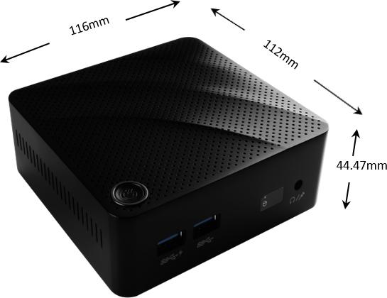 MSI Mini-PC Cubi N 8GL