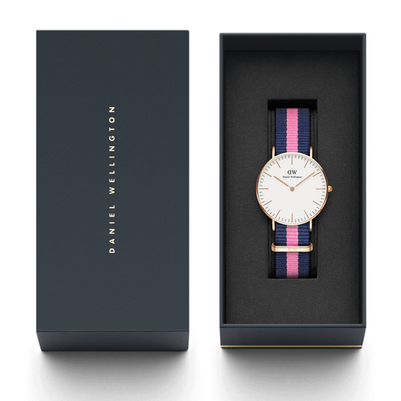Daniel Wellington Classic Winchester 尼龍錶帶手錶 36mm [2色]