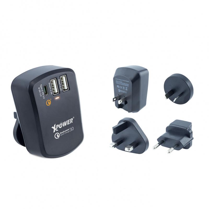 Xpower - U3PD Type-C PD充電器 - 黑色