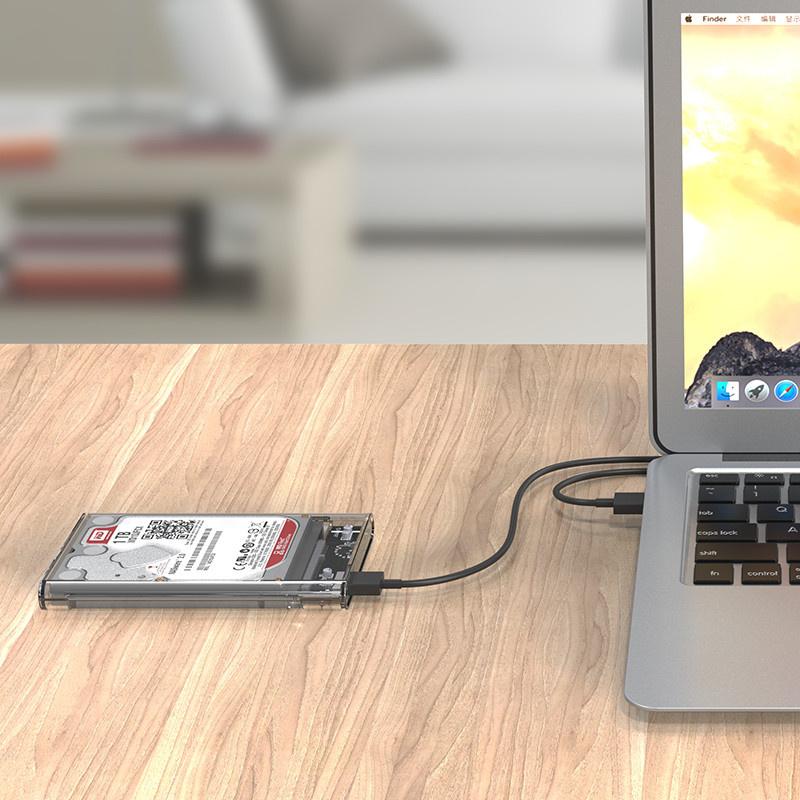 Orico 2139U3 全透視USB3.0移動硬盤盒