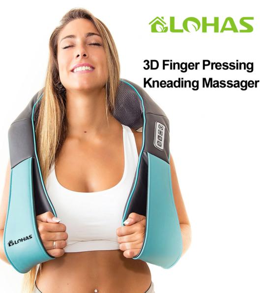 Lohas 3D指壓揉捏按摩器