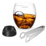 Final Touch 大岩玻璃杯 + 不銹鋼冷凍球