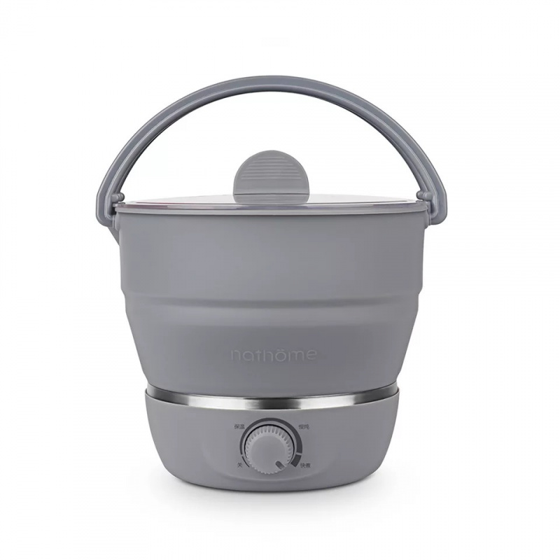 nathome折叠多功能電煮鍋
