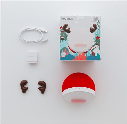 Heecavs 多用途無線充電藍牙喇叭 HE101 (小鹿禮盒裝)