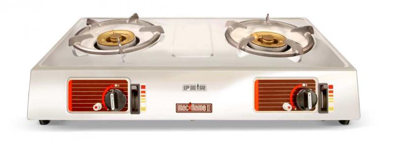 MACFLAME伊美牌 MF-02+ 雙頭石油氣爐