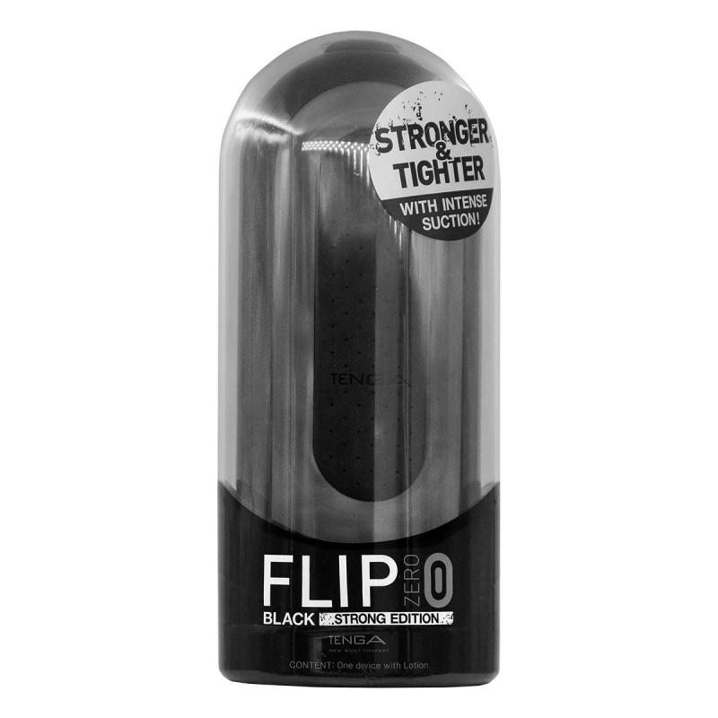 [高用量套裝] Tenga Flip 0 (Zero) Black 黑色 加 潤滑劑 Hole Lotion x 1支 (可重覆使用)