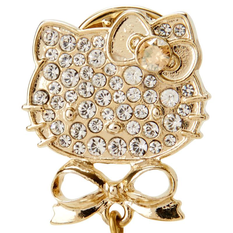 日本SANRIO Hello Kitty 水晶胸針