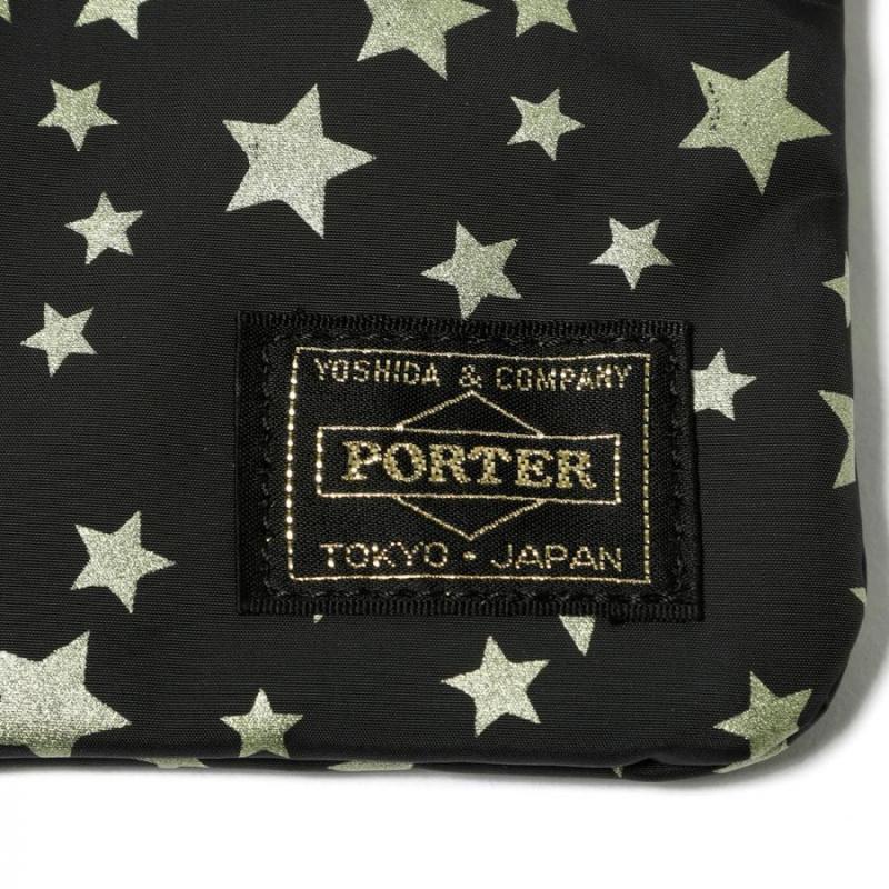 Head Porter 星星 ZIP WALLET 銀包 [2色]