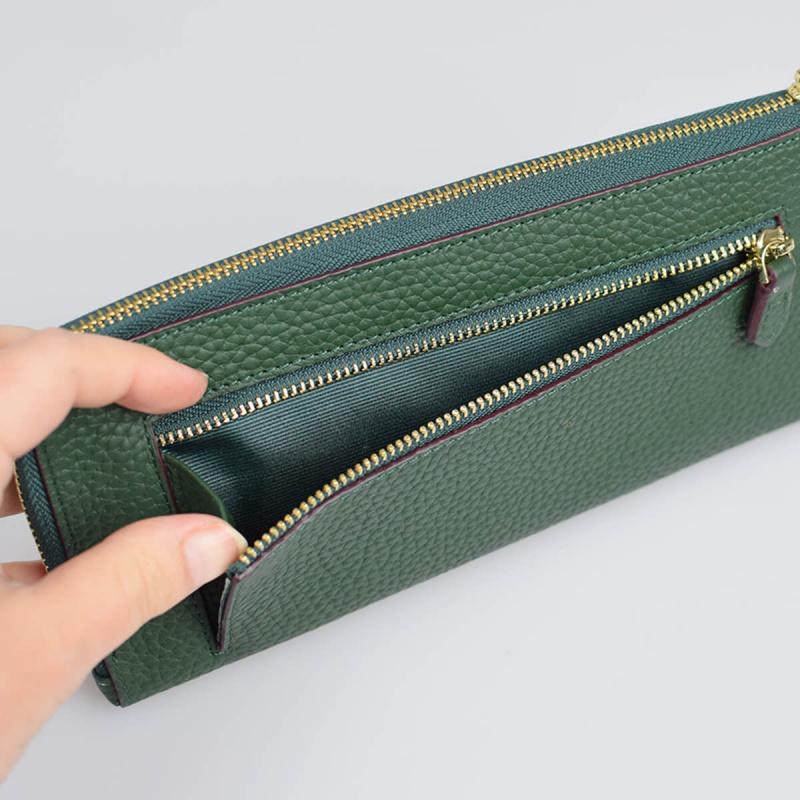 日本真皮L字型バルコス 財布 [5色]