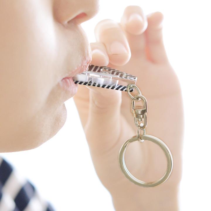 日本effe キーホルダー防犯対策笛鎖匙扣 [6款]