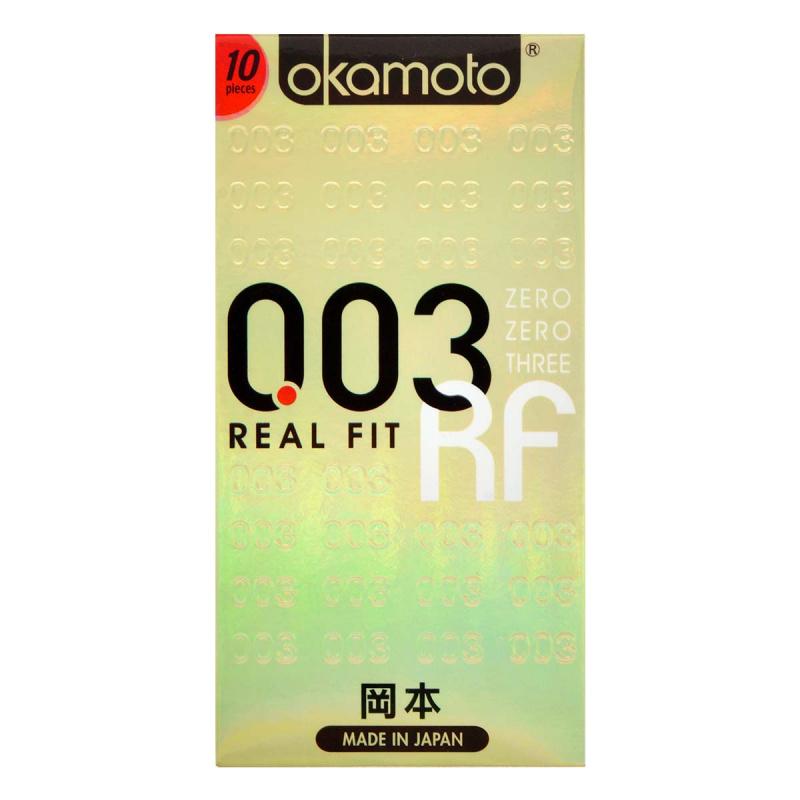 岡本 0.03 貼身超薄 10片裝 乳膠安全套