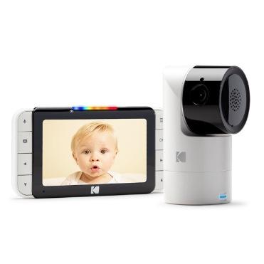 Kodak CHERISH C525智能嬰兒5吋屏幕高清監視器【順豐站/工商免運】