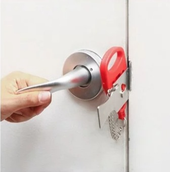 Addalock The Portable Door Lock 攜帶型安全防盜門鎖