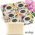 Rudy Natural Soap Gift Box Set  100%天然植物香皂禮盒 (150gx4個)