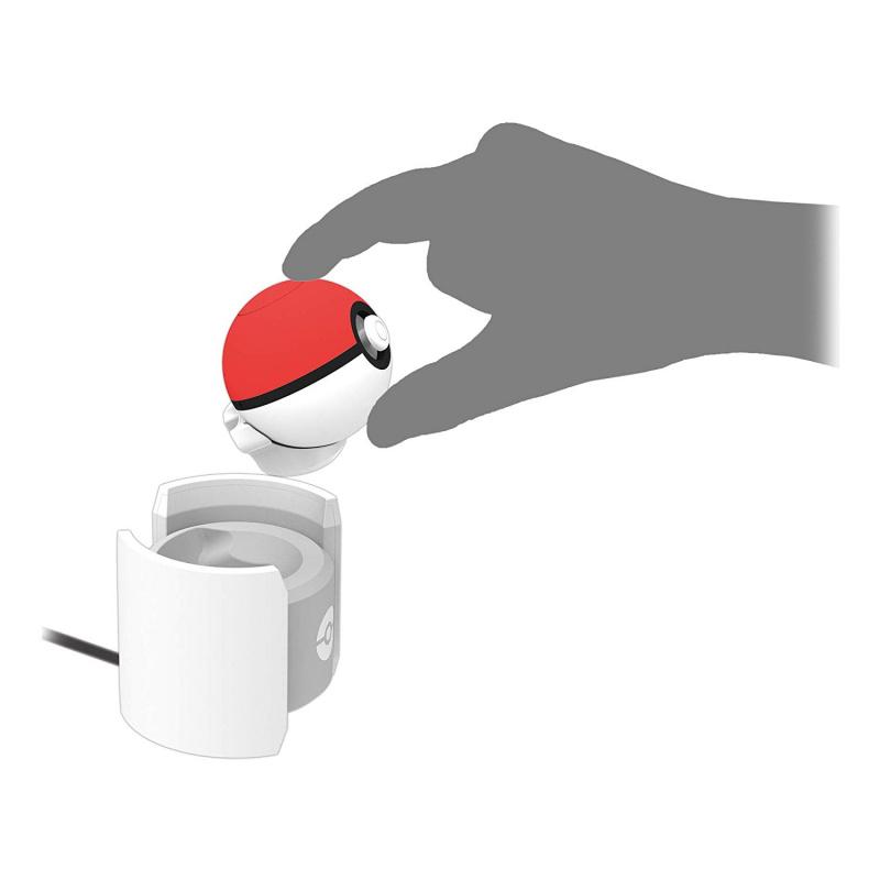 HORI - Switch Pokemon 寵物小精靈 精靈寶可夢 Let's Go! 精靈球Plus Monster Ball Plus 座充 充電