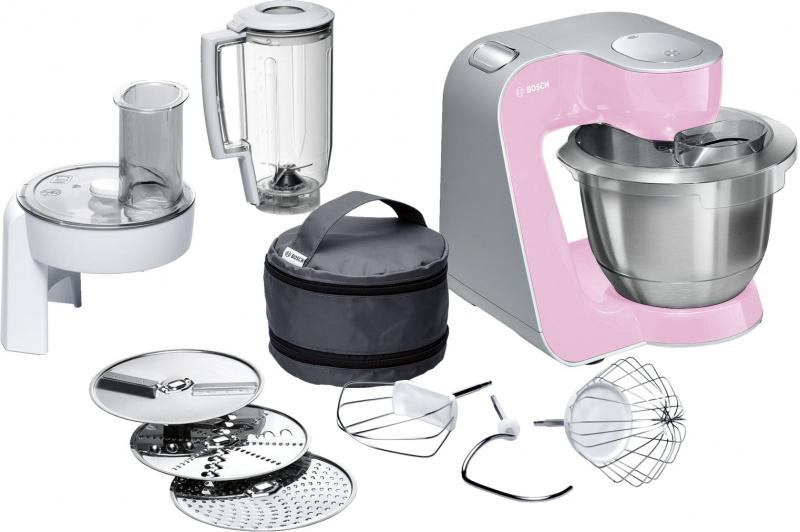 BOSCH博西 MUM58K20 專業級廚師機(粉紅色/銀色)