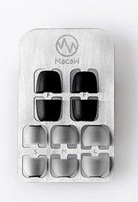 MacaW 記憶耳棉連耳膠 (黑白色5對/彩色6對)