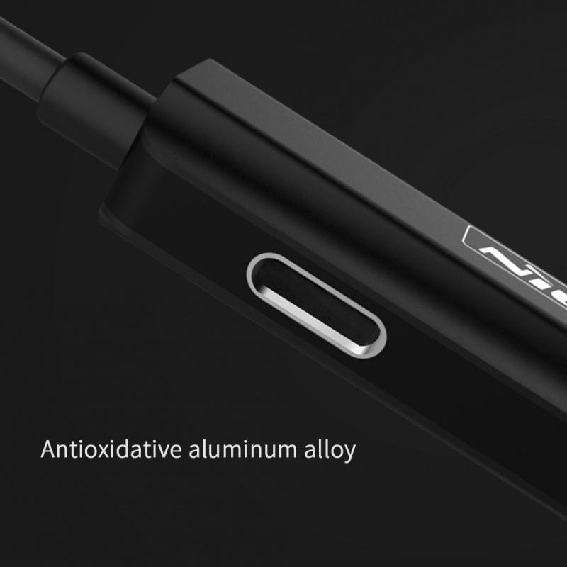 Nillkin 樂充Lightning轉 Lightning+3.5mm雙接口2合1音頻轉接線