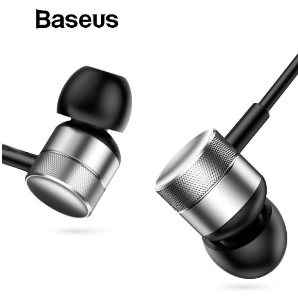 Baseus EncokH04 有線耳機 [4色]