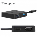 Targus USB-C DisplayPort™ DOCK411 Alt-Mode Travel Dock 旅行擴充埠