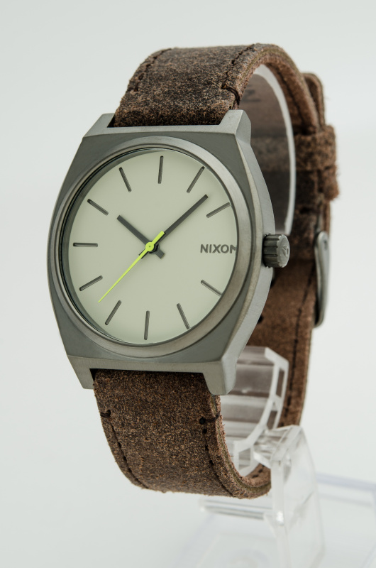 Nixon A0451 Time Teller Watch [杏/啡/銀]